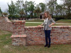 Perfect Short Brick Boundary Wall