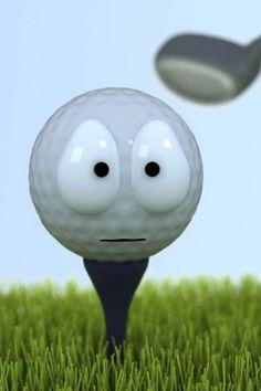 Golf ball says it's last words