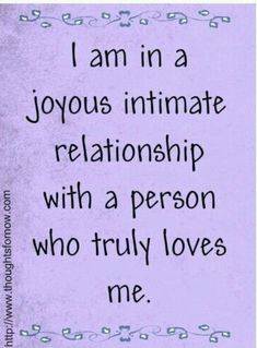 I am worthy and grateful now that I am in a joyous intimate relationship with a man who truly loves me and God! Positive Affirmations Quotes, Self Love Affirmations, Morning Affirmations, Law Of Attraction Affirmations, Affirmation Quotes, Positive Quotes, Words Quotes, Sayings, Positive Thoughts