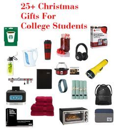If you're wondering what to get the college student in your life for Christmas, look no further. Here are 25+ of our favorite Christimas gifts for college students.