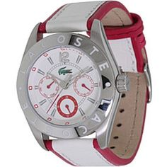 Lacoste Sportswear Collection Biarritz Multifunction White Dial Women's watch #2000530 Lacoste. $140.01. Lacoste 2000530 Watch Biarritz Ladies - White Dial Stainless Steel Case Quartz Movement Save on Lacoste Watches for Ladies. Guarantee high quality, and favorable price. Lacoste Watch Biarritz Ladies - White Dial. Casual watch, Japanese quartz movement, Multifunction featuring 24-hour, day and date subdials, Polished silver-tone hands with luminous accents and sweep seconds, ...