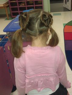 heart hair!    hairstyle from:  http://www.cutegirlshairstyles.com/twists/double-twist-hearts-valentines-day-hairstyles/