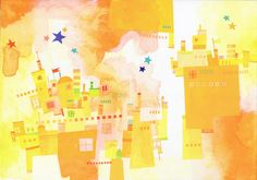RELAX画「city83」[artnote] | ART-Meter