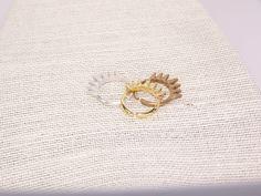 adjustable cast multi spike ring by BellizaKnightJewelry on Etsy, $38.00
