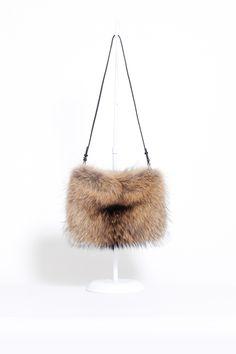 Jil Sander Hand Muff Bag (Sable)