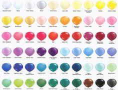 balloon colours