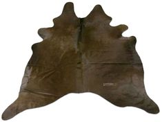 Dyed Brown Cowhide Rug Size: 7.5 X 6.5 ft Dyed Brown Cow Hide Skin Rug i-886 #cowhidesusa #Contemporary