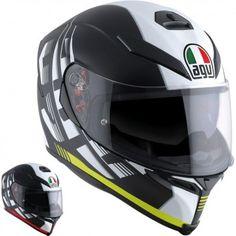 AGV Racing K-5 Storm Mens Street Sport Bike DOT Full Face Motorcycle Helmets