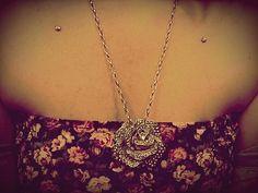 <3 #collarbone #dermal