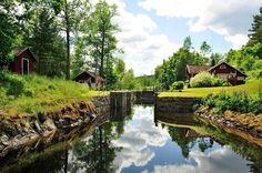 Dalsland Canal,West Sweden