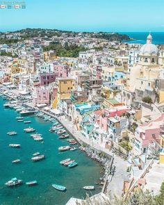 Procida, Italy  #ItalyVacation
