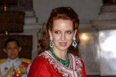 Lalla Salma of Morocco in Thai Royal Banquet at Bangkok, Thailand. June 12, 2006