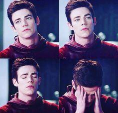 Grant Gustin aka The Flash aka Barry Allen // We've all had those days though!!!!