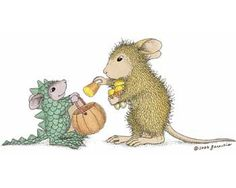 """Amanda and Monica featured on The Daily Squeek® for October 12th, 2014. Click on the image to see it on a bunch of really """"Mice"""" products."""
