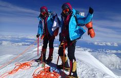 How twins Nungshi and Tashi Malik, members of the 2015 Department of State and espnW Global Sports Mentoring class, overcame gender bias to become two of the world's most accomplished climbers. Mountain Hardwear, Digital Trends, Twin Sisters, Mountaineering, Inspire Others, Continents, Adventure Travel, Climbing, Mount Everest