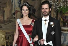 In the evening of March 23, 2017, Thursday, King Gustaf and Queen Silvia of Sweden hosted the first official dinner of the year at the Royal Palace of Stockholm.