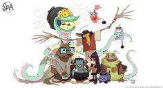 "The SPA Studios (@TheSPAStudios)   Twitter ""Animation is imagination"" #WorldAnimationDay"