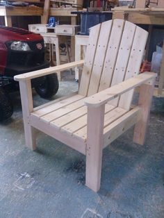 Lounge Chair | Do It Yourself Home Projects from Ana White