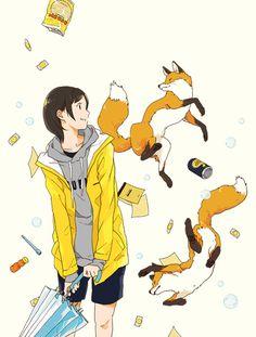 art ukilog girl fox scute   todo-john.tumblr.com