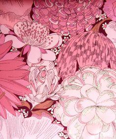 Liberty Art Fabrics English Field B Silk Satin   Fabric by Liberty Art Fabrics   Liberty.co.uk