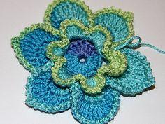 Вяжем крючком цветы   Ярмарка Мастеров - ручная работа, handmade