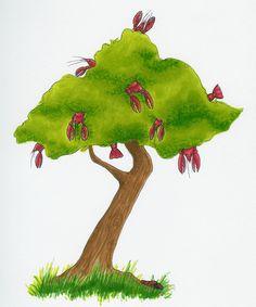The Wonderous Lobster Tree #JoesCrabShack