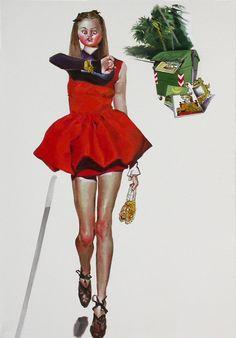 Indifférenciée, Indifférenciée - Stefania Massaccesi olio su tela Opera, Wonder Woman, Superhero, Fictional Characters, Women, Opera House, Fantasy Characters, Wonder Women, Woman