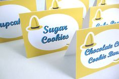 Curious George Inspired Food Labels Set of 6 by DizzyDesignStudio, $6.00