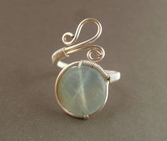 Wire Wrapped Ring / wire wrapped jewelry by PillarOfSaltStudio, $20.00