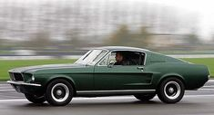 Nice Ford Ford GT Mustang - Bullitt with Steve McQueen. Dream Garage Nice Ford Ford GT Mustang - Bullitt with Steve McQueen. Mustang Bullitt, Ford Mustang Gt, Mustang 1968, Mustang Cars, Ford Gt, Steve Mcqueen Cars, Classic Mustang, Pony Car, Us Cars