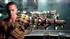Cyberpunk augmentation - cyborg soldier
