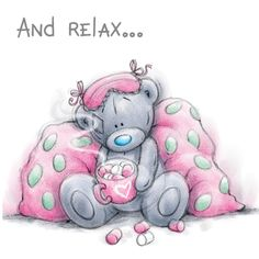 ♥ Tatty Teddy ♥ And Relax. Teddy Images, Teddy Pictures, Bear Pictures, Cute Images, Cute Pictures, Tatty Teddy, Blue Nose Friends, Cute Clipart, Love Bear