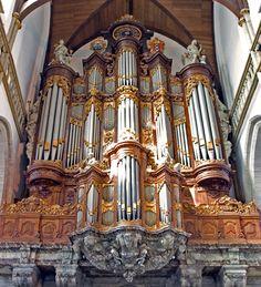 De Oude Kerk - Grote of Vater-Müller orgel | organ old church