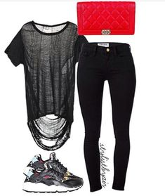 Nike Outfits, Polyvore, Image, Style, Fashion, Swag, Moda, Nike Clothes, Stylus