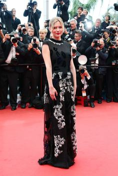 you can never do wrong in my eyes no matter how horrible the dress.  Kirsten Dunst Kirsten Dunst attends 'Inside Llewyn Davis' Premiere during the 66th Annual Cannes Film Festival at Palais des Festivals on May 19, 2013 in Cannes, France.