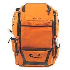 d6d46474fcb Latitude 64 Luxury E2 Backpack ORANGE Golf Discs Bag Holds 20+ Discs