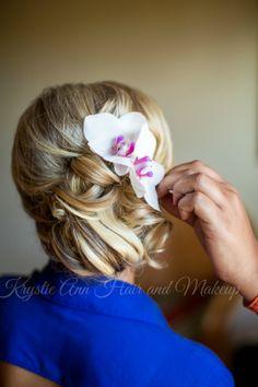 Hair: www.krystieann.com Wedding hair, bridal hair, updo, wedding hair styles, beach wedding hair, punta cana bride, punta cana wedding, jellyfish punta cana, jellyfish weddings, side bun, prom hair, brent foster photography