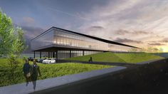 Architecture | Lemay to Design New Lumenpulse Head Office - Lemay - photo credit: Lemay