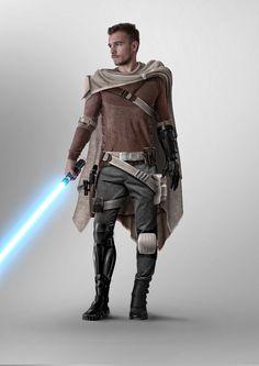Star Wars - Jedi Gear Design Created by Monsieur Charles