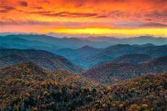 Newfound Gap, Tennessee, USA