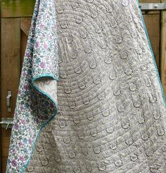 How to make a whole cloth liberty quilt, Where the orchids grow