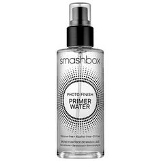 Acting as the most recent iteration of Smashbox's cult Photo Finish Foundation Primer, this preparatory spray provides a fine layer of hydration and electrolytes that create a canvas-smoothing effect.  Smashbox Photo Finish Primer Water, $32;sephora.com