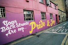 """""""Your back streets are my pride and joy"""" - Dublin Street Art  #Graffiti    www.clickacourier.ie"""
