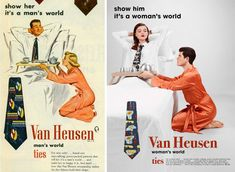 Artist Gives Vintage Ads A Feminist Makeover By Swapping Gender Roles | HuffPost