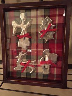 Vintage cookie cutter display