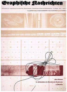 Graphische Nachrichten. Bildungshefte für Satzgestaltung, Entwurfstechnik, Phototypographie, Fachschulwesen, Gebrauchs- und Werbegraphik, Sprache und Rechtschreibung. 16. Jahrgang, Heft 1, Januar 1937