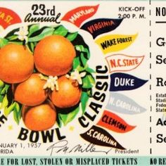 Football Art, Vintage Football, College Football, Sports Art, Sports Posters, Sports Logos, Art Posters, Christmas Gifts For Sports Fans, Classic Bowls