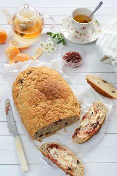 Receta de pan dulce con muesli. Pan casero. Receta de pan casero. CharHadas.com