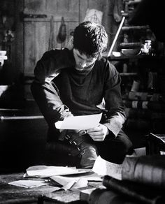 """""""Looking at the notebook, I wonder, how much more her heart holds than is on these pages.""""-Jack Heron"""