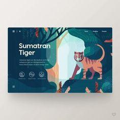 """2,818 curtidas, 34 comentários - Web Design Inspiration (UI/UX) (@welovewebdesign) no Instagram: """"by Daniel Tan @danieldesignwork Follow us @welovewebdesign - Link:…"""""""